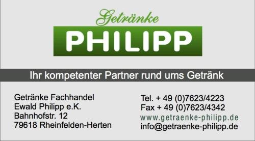 Getränke Philipp Programmheft